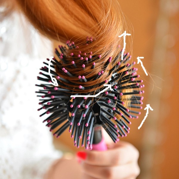 hair styling brush