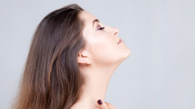 Jutting Jaw Exercise