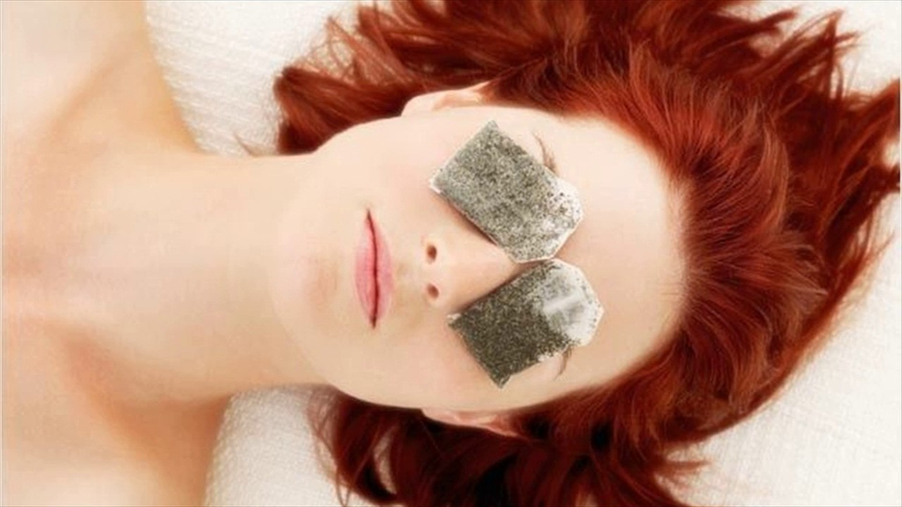 Green Tea bags for Puffy Eyes