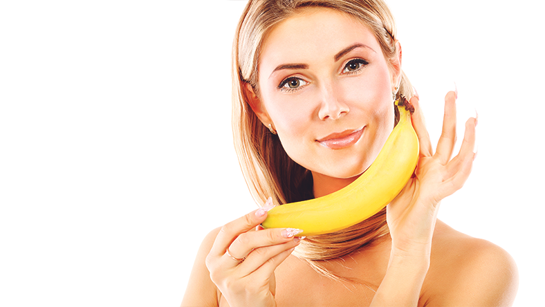 banana neck skin
