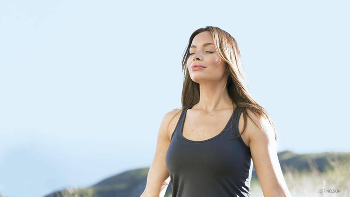 breathing yoga