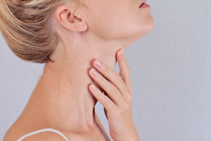 massage neck skin