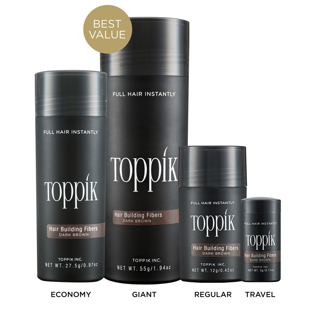 Hair Building Fibre by Toppik