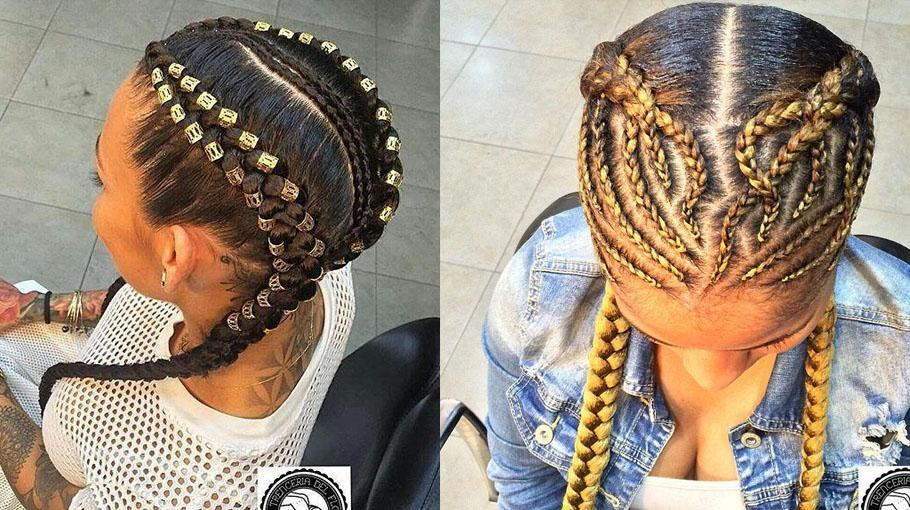 Intricate Boxer Braids