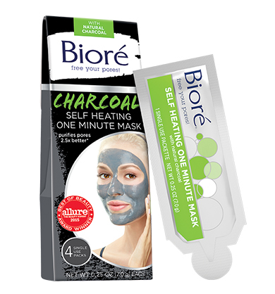 Self Heating One Minute Mask by Biore