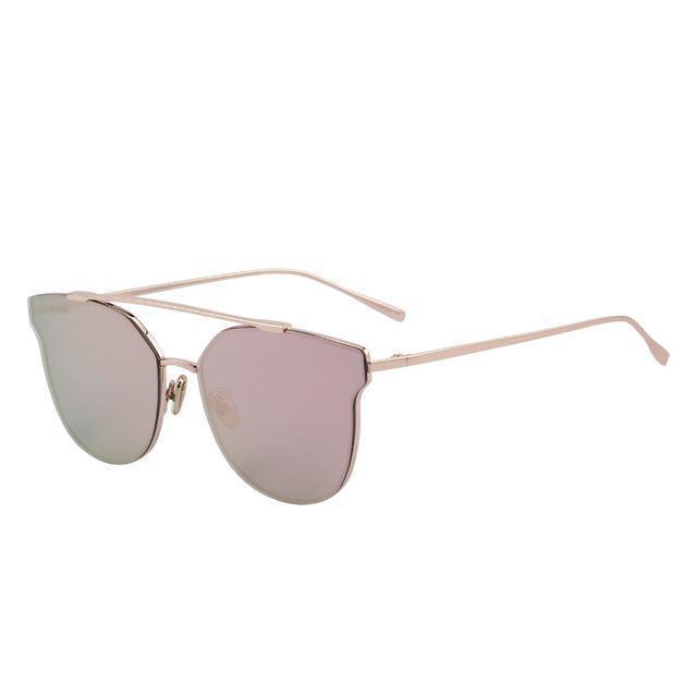 Rimless Oversized Sunglasses