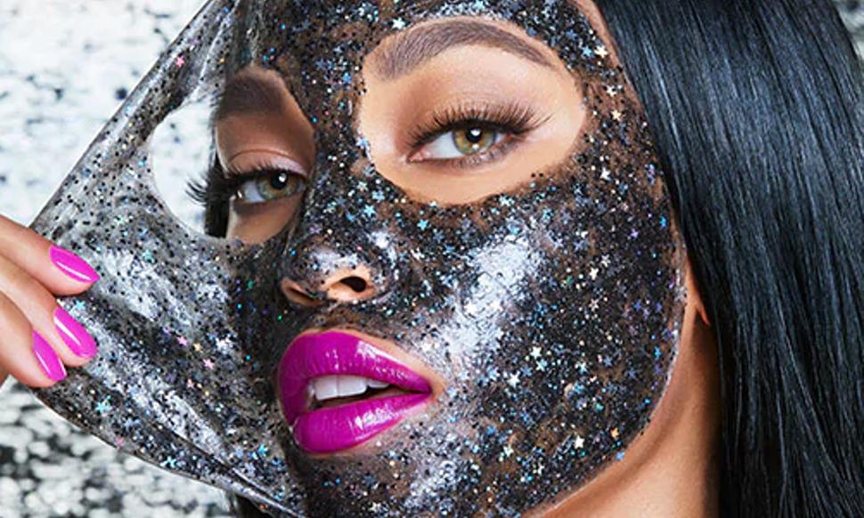 Glitter Face Mask
