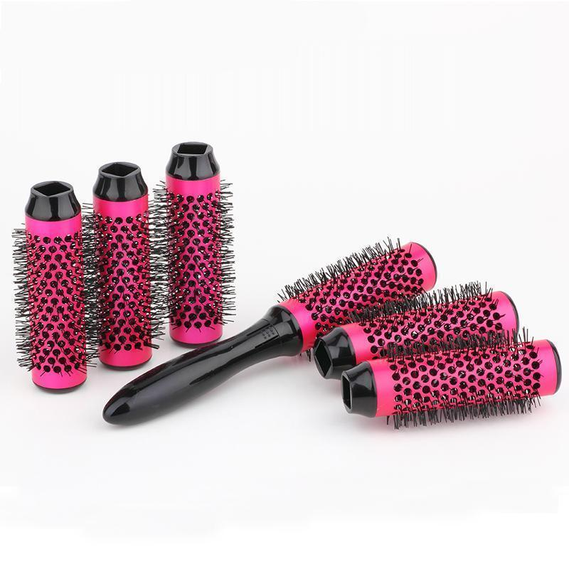 Round Hair Brush Set